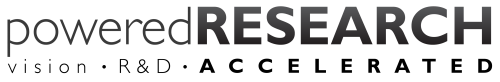 Powered Research logo